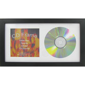 Black Wood CD Frame